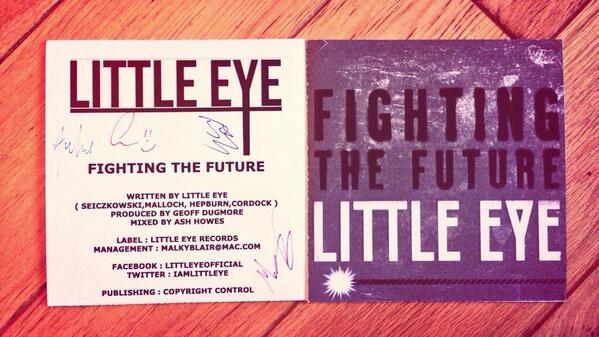 "Who's wants a FREE signed limited edition copy of ""Fighting The Future"" we are giving away 50 !!!!"