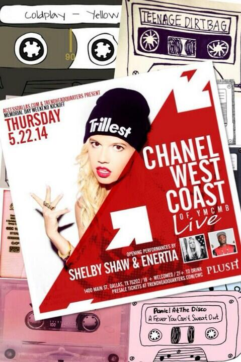 1 Day And Counting!!! @MsShelbyShaw + @ChanelWestCoast + Me = #DamnMyMemorialDayWeekendDope!!! http://t.co/J98kneGCFw http://t.co/MX9G4fPsQR