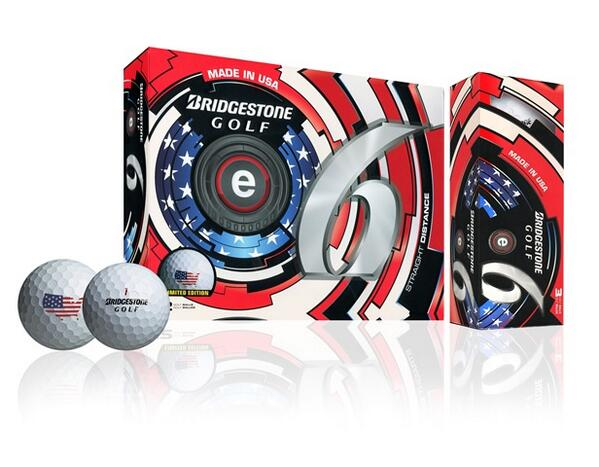 Limited edition e6 now available celebrating the production of all of our premium golf ball models here in the USA! http://t.co/uoh31lA6Pj