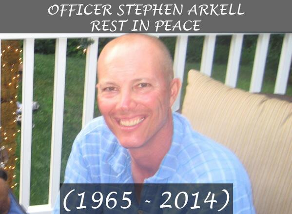 Rest in peace, Officer Arkell: http://t.co/wvJhCqVm0L http://t.co/ib4dDYzMCW