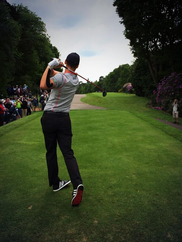 Players Champion two weeks ago, Martin Kaymer stripes one away in #adicross