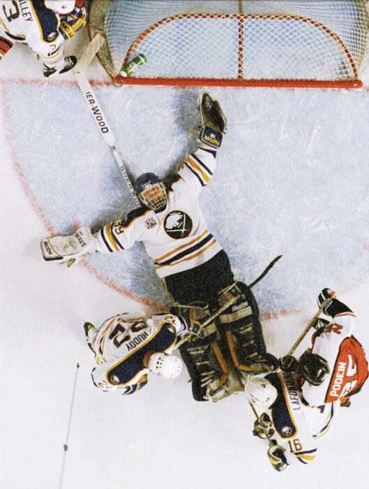 Great shot of Dominik Hasek in action: http://t.co/NEW8KdQUh8