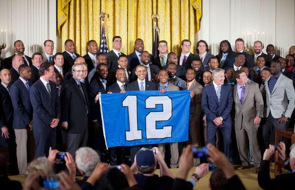 Lookin' good, @RSherman_25 & @DougBaldwinJr! #gostanford MT @Seahawks: Thank you for hosting us today Mr. President. http://t.co/SJEQoVJrmm