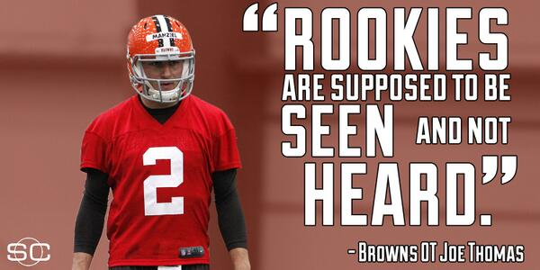 Johnny Manziel is NOT a Milford man. (@bluthquotes) RT @SportsCenter: http://t.co/8QXFZzAMJi