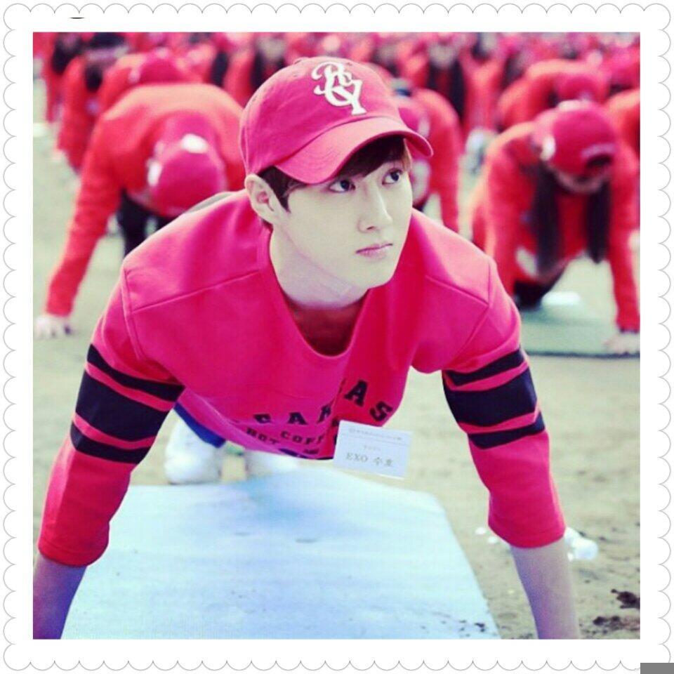 Happy bday junmyeon-ah #HappySuhoDay http://t.co/1OetFqzQqX
