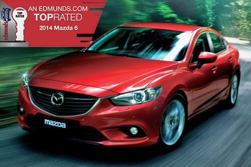 The 2014 @MazdaUSA Mazda6 wins Edmunds TOP RATED Award! Learn more about this stylish sedan: http://t.co/6HQ20iYNIq http://t.co/mXzDikBr9L