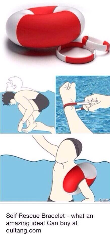 This is a self rescue bracelet http://t.co/98tzGpZvbI