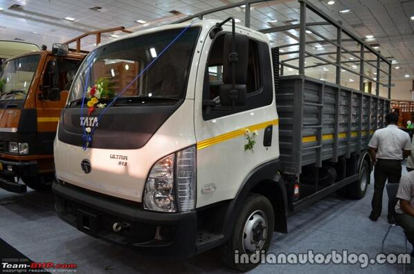 Well done @tatamotors that's a nicely designed truck. #TataUltra http://t.co/a9yjVJGKJ8