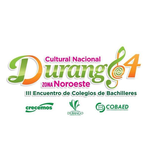 COBAED (@COBAEDoficial): Hoy es la gran Inauguración #RegionalCultural Durango de colegios de Bachilleres, 8:30 plaza Fundadores @meregobdgo http://t.co/DGrecMm4a5