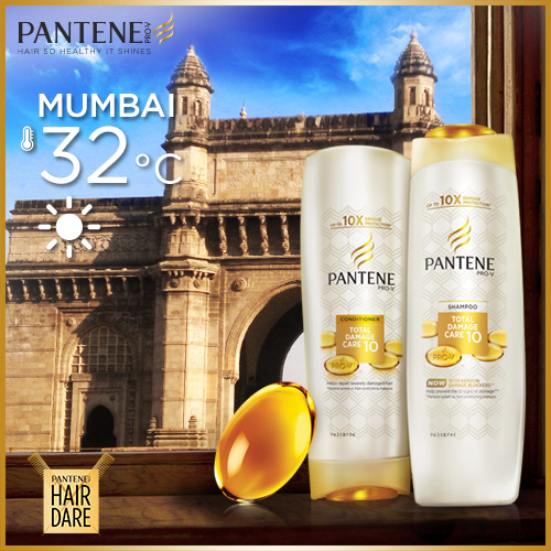 #Mumbai Summer heat ruining your lifestyle? Pantene helps you keep with the pace without worrying about hair damage! http://t.co/wMSY1KTRyv