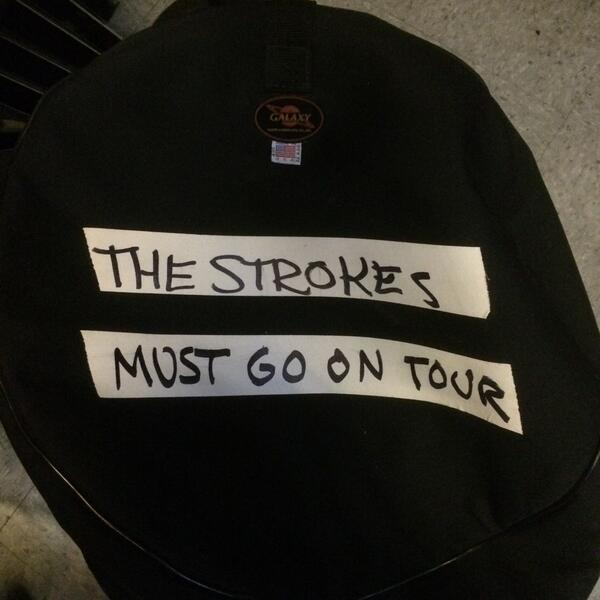 Even our flights cases wanna tour hahaha @thestrokes http://t.co/FEOskwmuk5