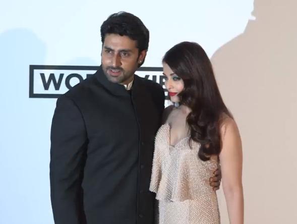 Aishwarya and Abhishek. http://t.co/oLWnqKpM0S