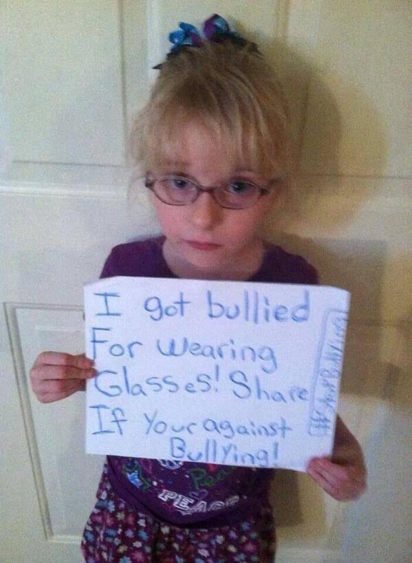 How gorgeous and adorable is she?! #NoBullying #StopBullying #TakeAstand #retweet http://t.co/LXKpXrrse9