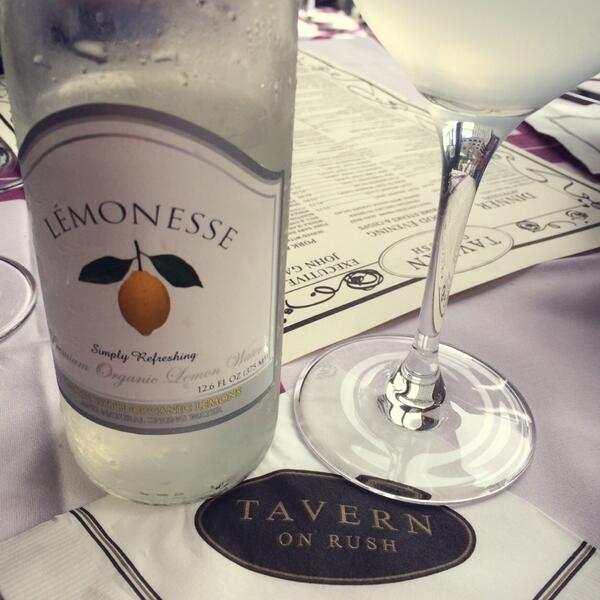 Be sure to grab a bottle of LÉMONESSE™ @TavernOnRush. #Chicago #finedining #luxury http://t.co/ozZLleJrrE