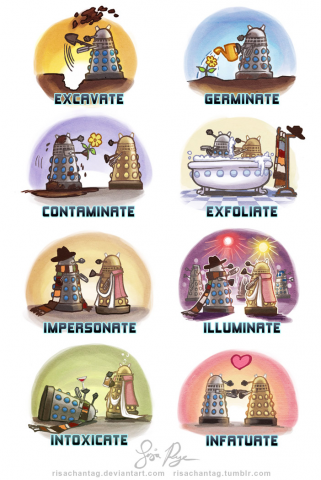#Daleks when they're not hunting the Doctor: http://t.co/ZOEgDmcp5d
