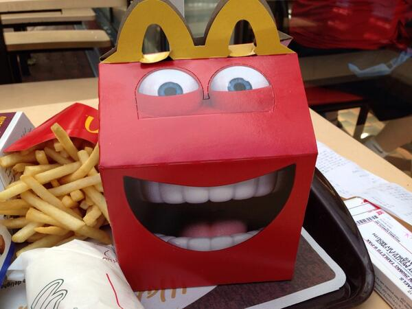 17 Things We Know So Far About The Terrifying New Happy Meal Box