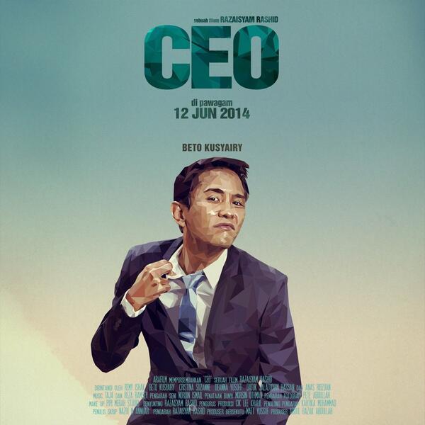 Beto Kusyairy sebagai Sufian Abas #filemceo di pawagam 12 Jun http://t.co/EivDBMzt1f