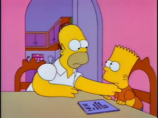 """""""Do you want to change your name to Homer Junior? The kids can call you Ho-Ju!"""" http://t.co/N8bZVCVTHR"""