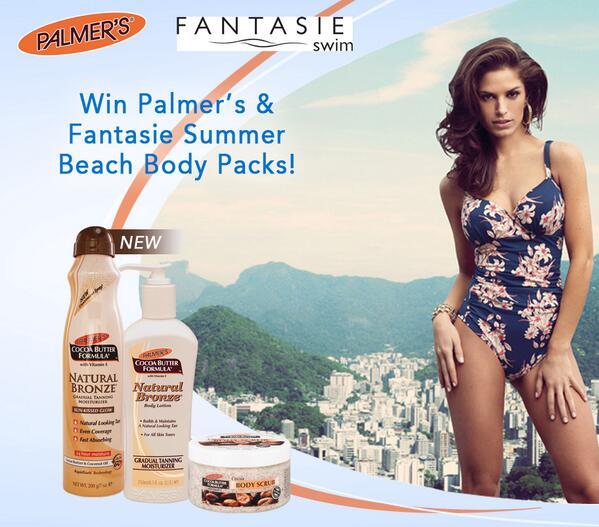 #FreebieFriday Win @Fantasie1 Swimwear & Palmer's #SummerBeachBody Packs! Enter on http://t.co/K31o5yqb0t T&Cs apply. http://t.co/WBo6jfKAY1
