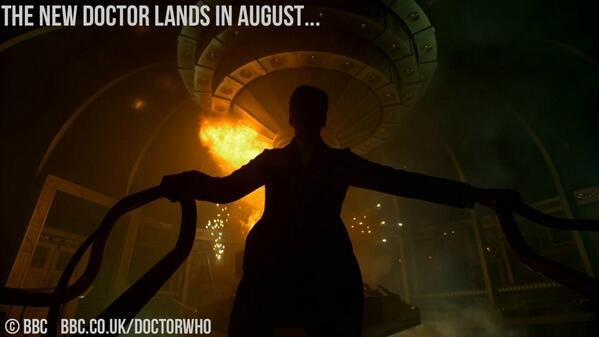 BREAKING NEWS! The new series of #DoctorWho starts August, 2014! http://t.co/OZN1NxGp4w