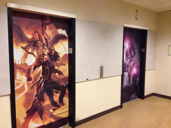 Our elevators look sweet! #mtg #fb http://t.co/gAG0Rlkjkv