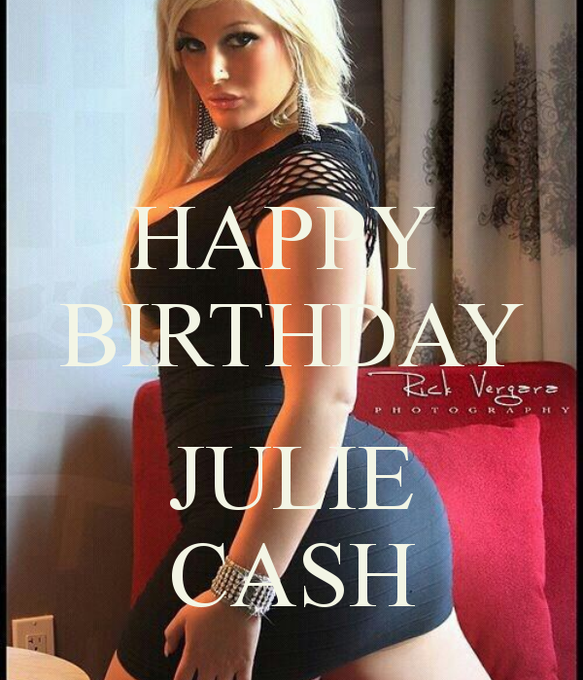Thanks soo much  RT @imiftimir: Happy Birthday to the most beautiful and bootyful woman on earth @juliecashxxx