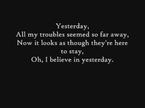 #beatles #thebeatles Yesterday-The Beatles- Lyrics http://t.co/cElJU6Tary http://t.co/d9EqiKJbpp