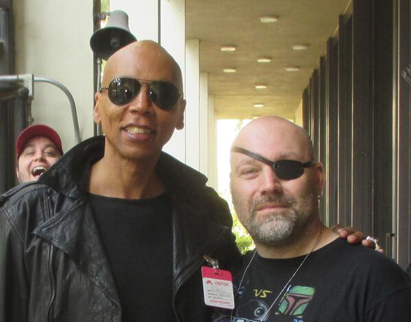 Toured @NASAJPL today with @jaredhoy, @thegamesmith and the legendary @RuPaul ! Thanks again @tweetsoutloud ! http://t.co/NL2jSMQOmB
