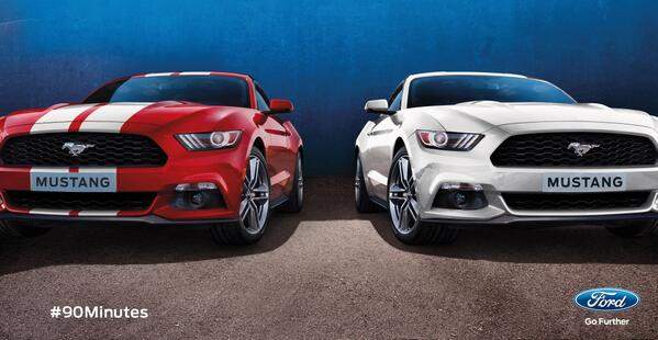 Best of luck to both teams in Lisbon today! #UCLfinal #FordMustang #90minutes http://t.co/EgqmWOqkQw ^RW http://t.co/N9QEKu5ARb