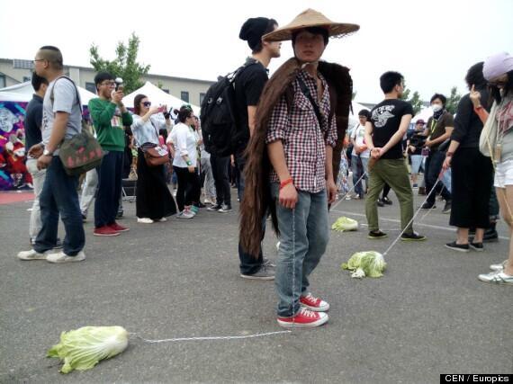キャベツをペット代わりに散歩させる若者が急増中の真相―中国 #ldnews http://t.co/9HYjywY2PC http://t.co/yCY3nduOPf