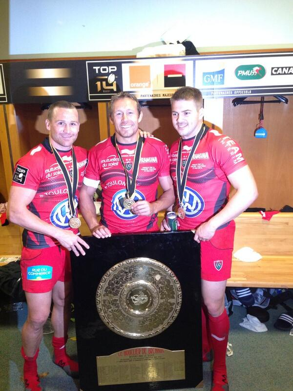 What an amazing feeling to do the double with these two people..  #HistoryCreated #AllezToulon http://t.co/r21Vyl4WKG