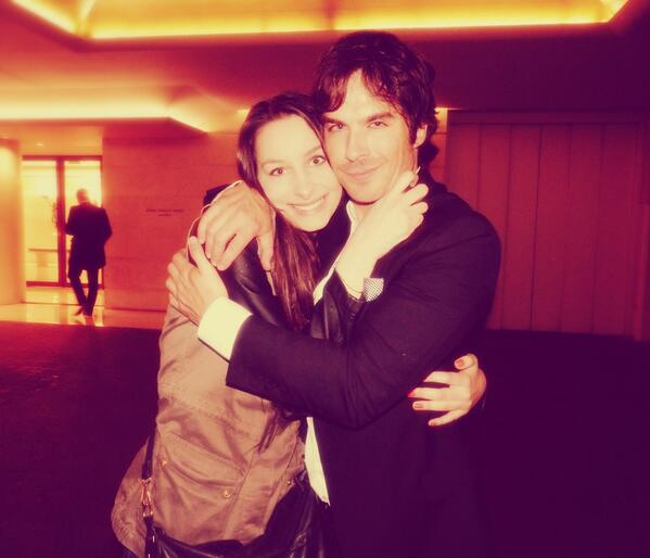 He almost strangled me but who cares ? He is @iansomerhalder , he can do whatever he wants to me
