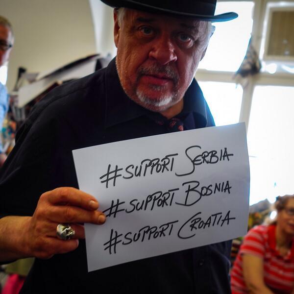 Wien hilft dem Balkan! #poplave2014 http://t.co/wfP3v5KKNk