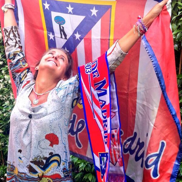 Pues eso! #CorajeYCorazon Viva mi @Atleti 🔴⚪️🔴⚪️🔴⚪️🔴 http://t.co/7KrbGQIz6o