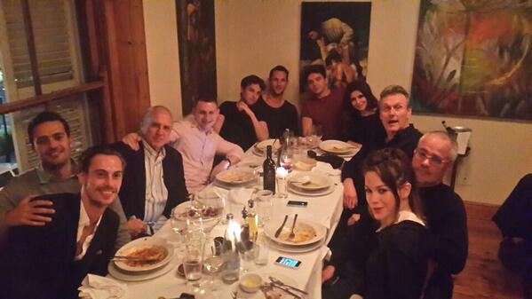 Dominion cast dinner with great people. http://t.co/GeNJnWoiSW