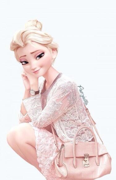 もしもエルサとアナが現代っ子だったら…!! 「アナと雪の女王」のふたりに現代ファッションを着せてみたよ! ついでにラプンツェルやメリダも♪ http://t.co/ZjwMtwK8Fu http://t.co/MSCtr7ajmF