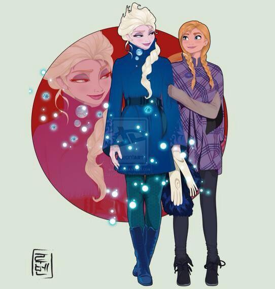 続・もしもディズニキャラクターが大学生だったら/「アナと雪の女王」アナとエルサもいるよ♪ http://t.co/hLgPmmqyv0 http://t.co/RHP6eluBmH
