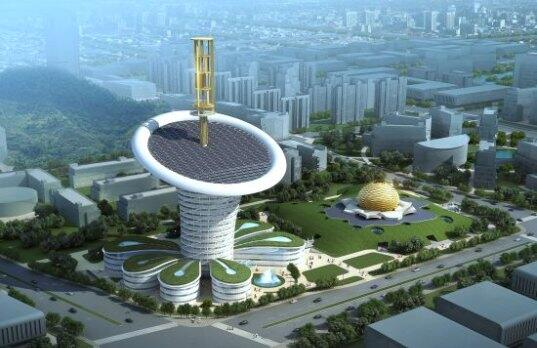RT @Ecogranjero: el edificio mas sostenible del mundo http://t.co/kK3563HFCw