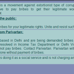 RT @tterIndia: In 2001, Arvind Kejriwal wrote and published this pamphlet... http://t.co/tWXliYCLWS