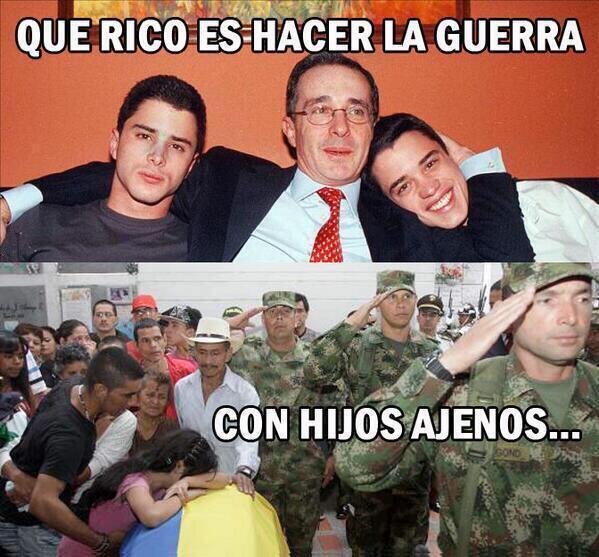 Doloroso pero real. Ni un voto para el uribismo o se nos instalan mínimo 8 años y adiós a la paz #ColombiaDecide2014 http://t.co/k6c9nIkl1n
