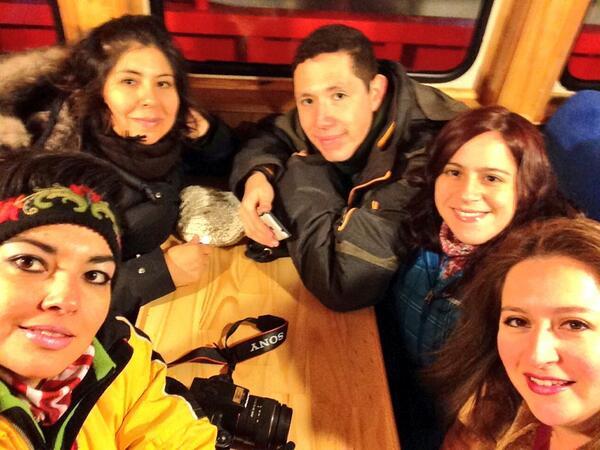 Good morning! Saludos desde el lugar mas austral del mundo. Team AC Chile in Patagonia #workshopacc2014 http://t.co/X3kT37jfrq