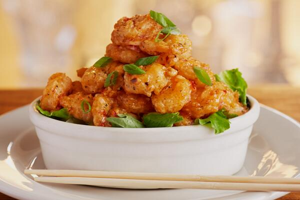 Free Bang Bang Shrimp with the purchase of 2 dinner entrées on any of the next 3 Mondays: http://t.co/axXDfDqslw http://t.co/5Ja89Pr6Q2