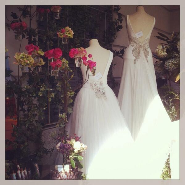 los vestidos de novia de covadonga plaza, una delicia! #noviastelva