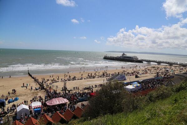 Bournemouth is looking amazing! #wheelsfest! @Bournemouthecho http://t.co/BkgrXDkg7x