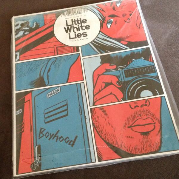 We've got a copy of @LWLies #issue53 featuring @BoyhoodMovie to give away. Simply RT to win. Good luck. http://t.co/wxdvrrP82d