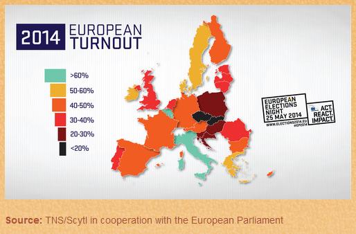 #EP2014 en directo: Descubre el mapa de la participación en las #EleccionesEuropeas... http://t.co/AbWVbZGI7D http://t.co/yorJz9NGeC