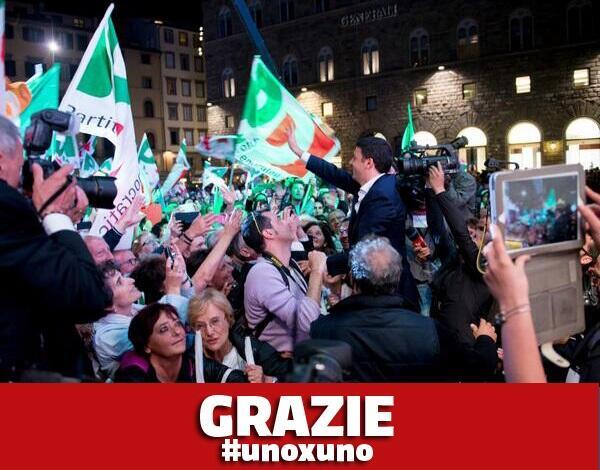 Grazie #unoxuno / @matteorenzi - http://t.co/BloqBu1Xla http://t.co/UbbVtHkSzh
