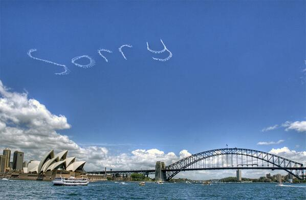 #SorryDay #Recognise http://t.co/cKrMAaFw34