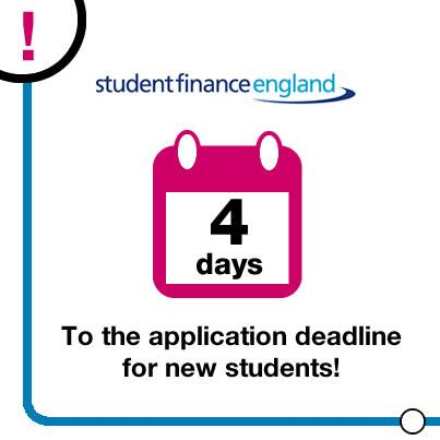 New students - 30 May deadline's fast approaching. #ApplyNow to receive your £ on time: http://t.co/H1WmJJo98o http://t.co/aJqJxqVXTj