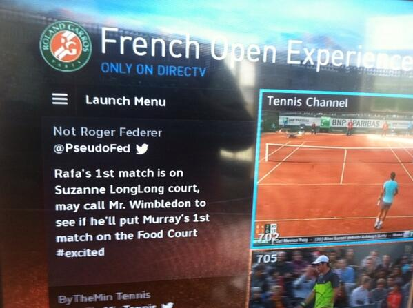 Watching The French Open and @PseudoFed pops up on my tv. Haha. #RG14 http://t.co/R6UXLe502n